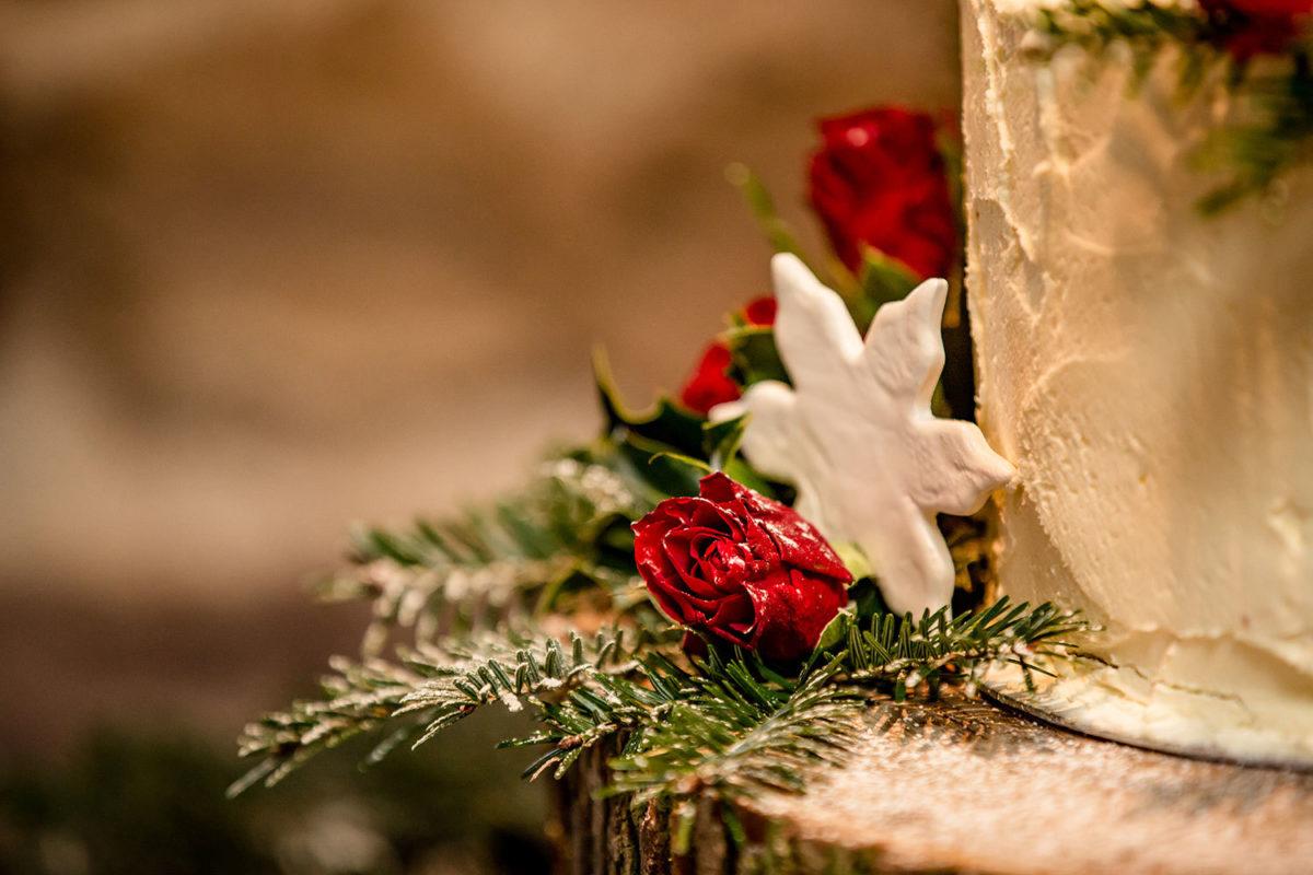 Christmas Weddings at The Ashes Barns - Stott Photography