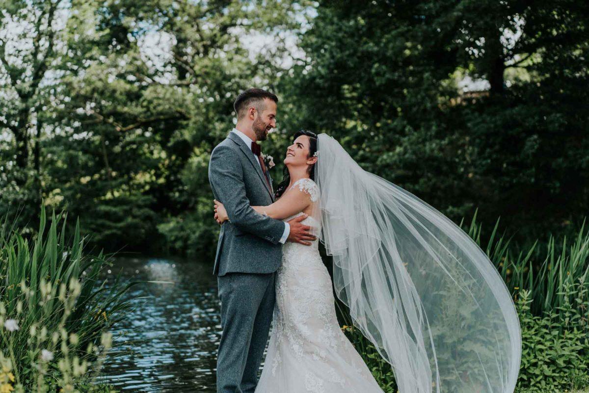 June Wedding - The Asheds Barns - David Boynton Photography