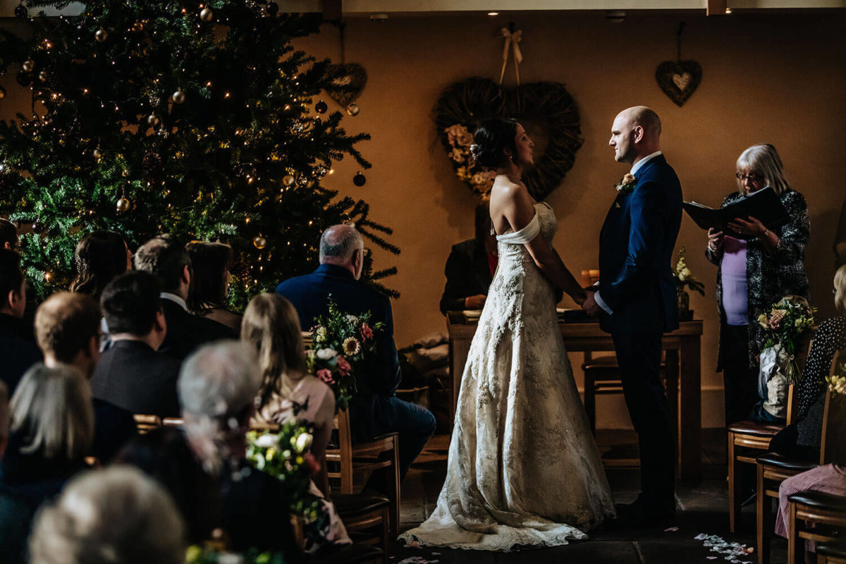Winter Wedding at The Ashes Barns - Stott
