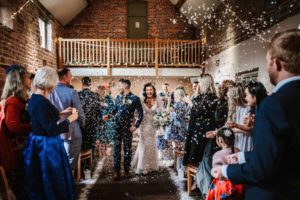 Alpine Themed Wedding At The Ashes Barns Wedding Venue